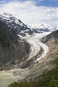 Border region Alaska-British Columbia, Tongue and lake of Salmon Glacier - FOF005444