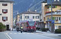 Switzerland, Grisons, Le Prese, Bernina express - WW003102