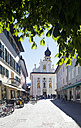 Italy, South Tyrol, Innichen, Old town and parish church St.Michael - WWF003150
