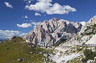 Italy, Veneto, Valparola Pass, Fanes Group, Piz dles Cunturines - WWF003038