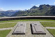 Italy, Trentino, Belluno, Soldier cemetery at Pordoi Pass - WW003043