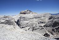Italy, Trentino, Belluno, Mountain station at Sass Pordoi - WWF003127
