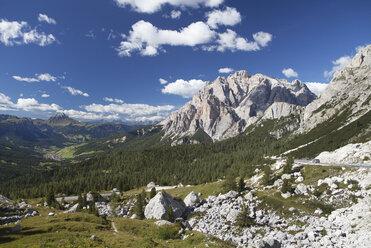 Italy, Veneto, Valparola Pass and Fanes Group - WWF003074
