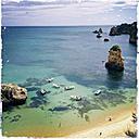 Beach near Lagos, Portugal, Algarve, Lagos - SEF000190