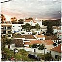 Mountain village Alcoutim on the Guadiana river, Portugal, Algarve, Alcoutim - SEF000098