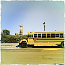 Old school bus, Montreal, Canada, Quebec, Montreal - SE000233