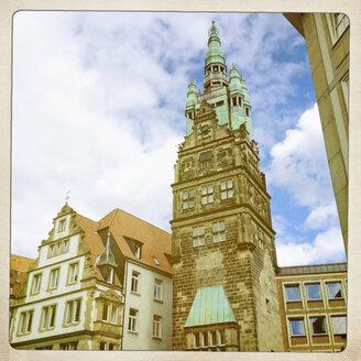 Stadthausturm, downtown district of Muenster, Germany, North Rhine Westphalia - SEF000252