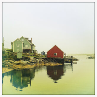Coastline of Peggy's Cove, Canada, Nova Scotia, Peggy's Cove - SEF000144