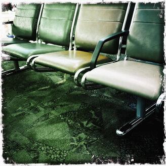 Seats at airport Calgary, Canada, Alberta, Calgary - SEF000169