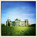 Reichstag, German parliament building, Germany, Berlin - ZMF000035