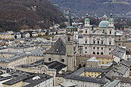 Austria, Salzburg State, Salzburg, old town and Salzburg Cathedral - GF000346