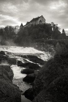 Switzerland, Canton of Schaffhausen, Schaffhausen, Laufen Castle at Rhine falls - EL000779