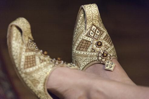 Afghan wedding shoes - HAF000243