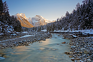 Austria, Tyrol, Eng, Karwendel mountains, Rissbach at Rissbach valley - GFF000382
