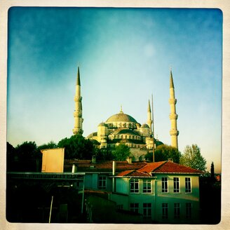 Blue Mosque, Istanbul, Turkey - ONF000242