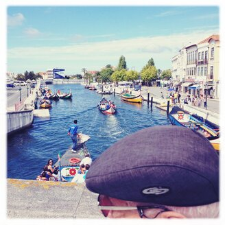Portugal, Aveiro, boating, tourists channel - BM000726