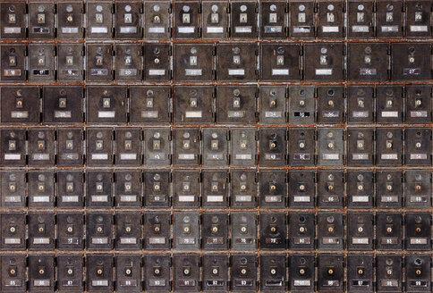 letterboxes, Hawks Nest, Australia - FBF000153