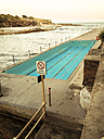 Empty pool at coast at Sydney, Australia - FBF000150