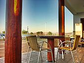 Restaurant, street restaurant, Teguise, Lanzarote Island, Canary Islands, Spain - ONF000311