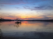 Sunset at Wannsee, Berlin, Germany - FBF000106