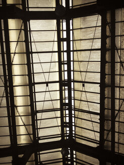 glass roof, metro, Berlin, Germany - FB000098