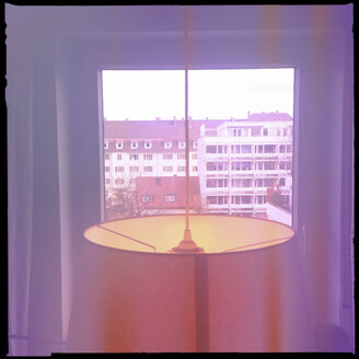 View from an apartment, Munich, Bavaria, Germany - GSF000622