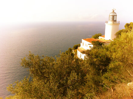 Lighthouse, Spain, Costa Brava, close to Palamos - SRSF000459