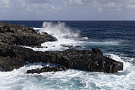 Spain, Canary Islands, La Palma, Volcanic coast at Fuencaliente - SIEF004962