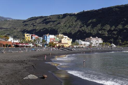 Spain, Canary Islands, La Palma, Puerto de Tazacorte - SIEF004959