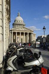 France, Paris, 5th arrondissement, Quartier Latin, view to Sorbonne - LB000491
