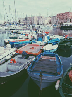 Boats in the Marina, Palermo, Sicily, Italy - MEAF000099