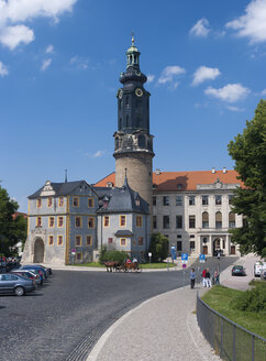 Germany, Thuringia, Weimar, City Palace and tower - HWOF000091