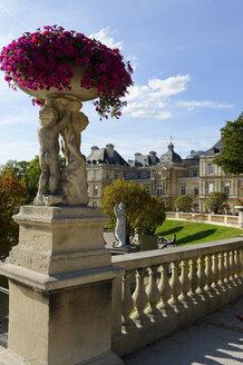 France, Paris, Palais du Luxembourg, Jardin du Luxembourg - LB000501