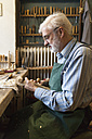 Violin maker at work - TCF003802