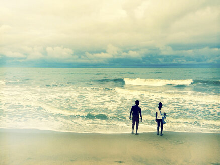 Beach, Sinhalese, Negombo, Sri Lanka - DR000369