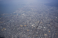 Japan, Osaka, birds eye view - FLF000357