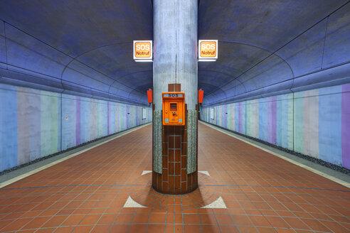 Germany, Hesse, Frankfurt, underground station - TI000006