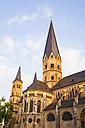 Germany, North Rhine-Westphalia, Bonn, view to St Martins Church - WDF002178