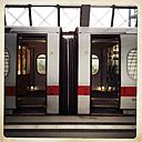 ICE Deutsche Bahn, open doors. main train station, Berlin, Germany. - ZM000110