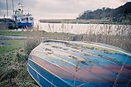 Germany, Mecklenburg-Western Pomerania, Ruegen, Boats in Moritzdorf - MJF000684