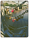 Germany, Hamburg, Love Locks - KRP000124