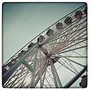 Germany, Hamburg, Ferris Wheel - KRPF000136