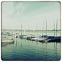 Germany, Hamburg, view of the outer Alster - KRP000145