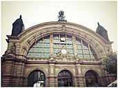 Germany, Hamburg, historic railway station Dammtorbahnhof - KRP000159