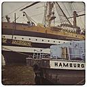 Germany, Hamburg, harbor, boats - KRP000184