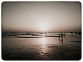 Indonesia, Bali, Sunset at the beach - KRPF000099