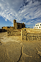 Morocco, Marrakesh-Tensift-El Haouz, Essaouira, view to fortress - THAF000002