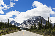 Canada, Alberta, Banff National Park, Jasper National Park, Icefields Parkway, Crowfoot Mountain and Bow Lake - FOF005771
