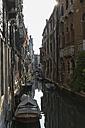 Italy, Veneto, Venice, Boats on canal - FOF005896