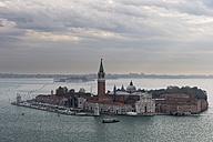 Italy, Venice, View from Campanile to San Giorgio Maggiore - FOF005952